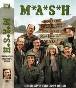 MASH Season 11 DVD cover