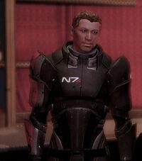 Conrad desgaste réplica de la armadura N7
