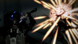 Combat ME2 Melee Hitting LOKI Mech