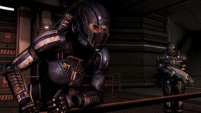 Ash dudando de Shepard en Marte