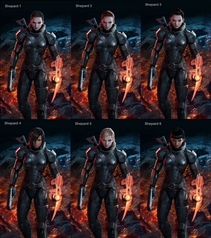 File:Mass Effect 3 female Shepard designs.png