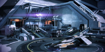 N7 Cerberus Fighter Base