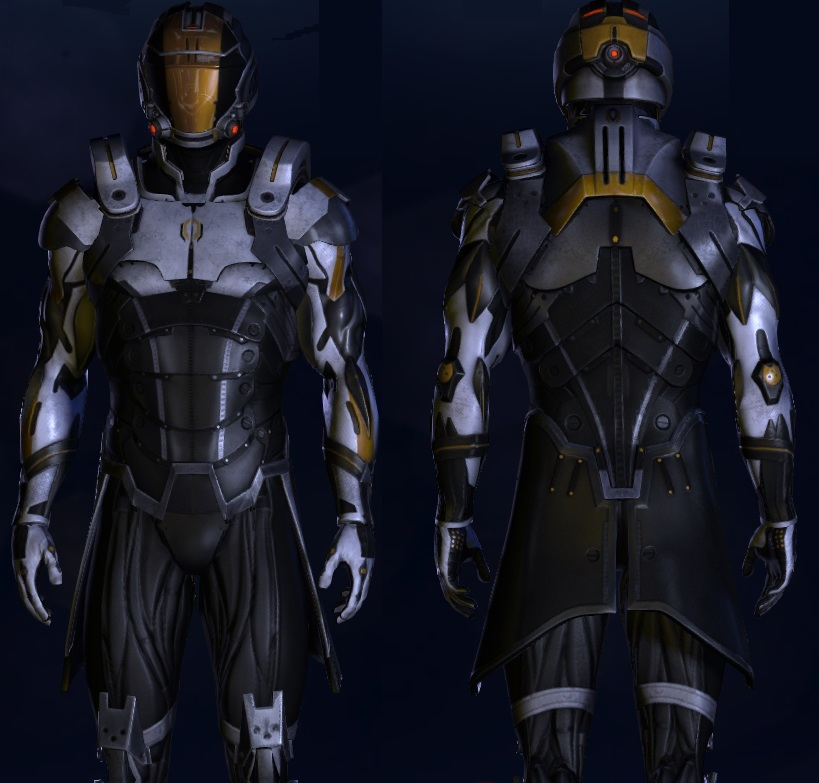 Cerberus Spirit Armor | Mass Effect - 133.7KB