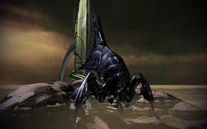 Reaper guarding shroud facility