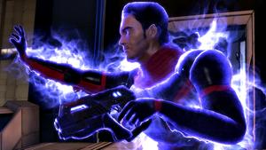 Kaidan utiliza sus poderes