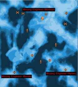 Missing Engineers Map