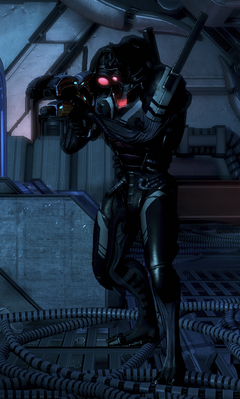 ME3 Geth Hunter
