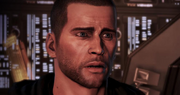 Shepard scared face