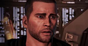 Shepard scared face