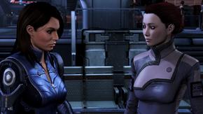 Ash consuela a su hermana viuda en la Ciudadela