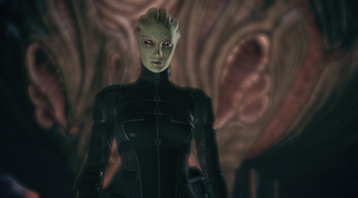 Feros Asari Clone and Thorian