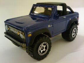 Superfast 72 Ford Bronco 4x4