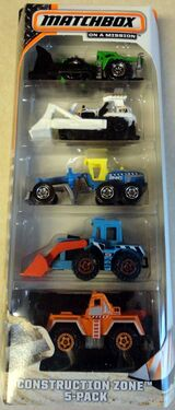 Matchbox Construction Zone 2 5-Pack.