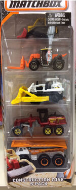 Construction Zone 5-pack 2016