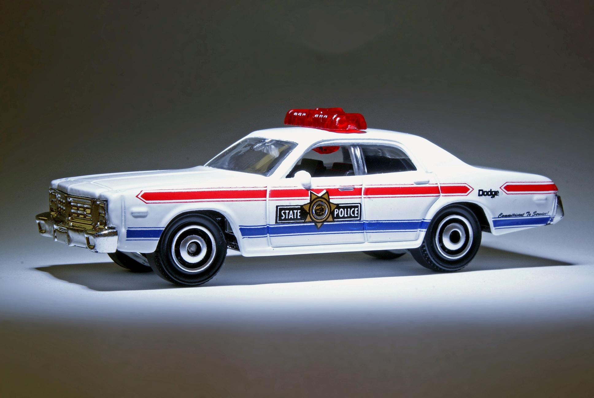 Police Car Matchbox Dodge Monaco Police Car 5-pack