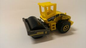 Construction Road Roller