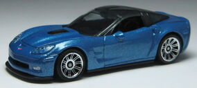 Corvette zr1 blue