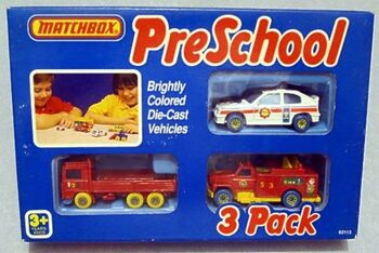 My First Matchbox (3 pack)