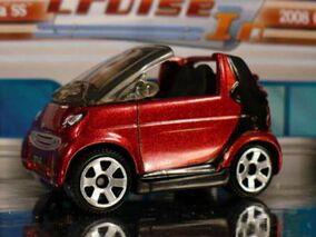 SMART Cabrio Red