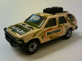 Special Limited Edition Isuzu Rodeo