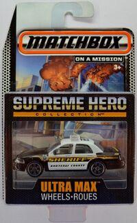 SUPREME HERO Ford Crown Victoria Police