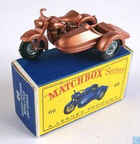 66B HARLEY DAVIDSON MOTORCYCLE