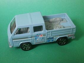 VW Transporter Crew Cab (Blue 2016)