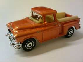1957 GMC Stepside orange