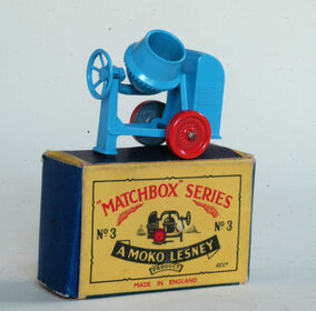 Matchbox -3A Cement Mixer 1953 England