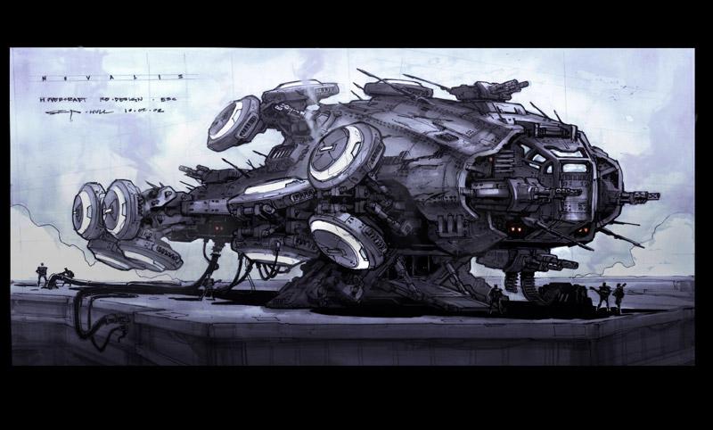 Matrix Hovership vs Apache Gunship   SpaceBattles Forums