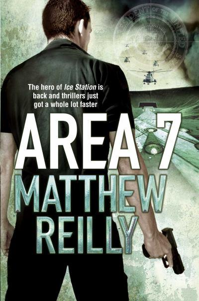 Image result for matthew reilly area 7