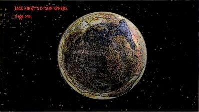 Jack Kirby's Dyson sphere stage 1