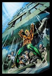 Aquaman Building Holding