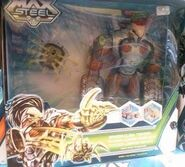 Max Steel Spider Claw Toxzon