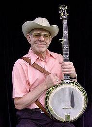 Doug Dillard with Banjo