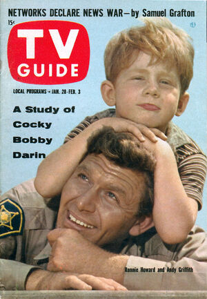 Andy Griffith TV Guide 1961