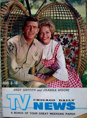 Andy joanna behind scenes magazine nov 3 1962