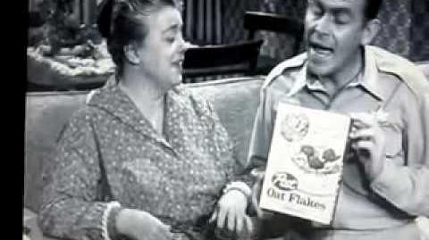 Andy Griffith Post Oat Flakes Commercial