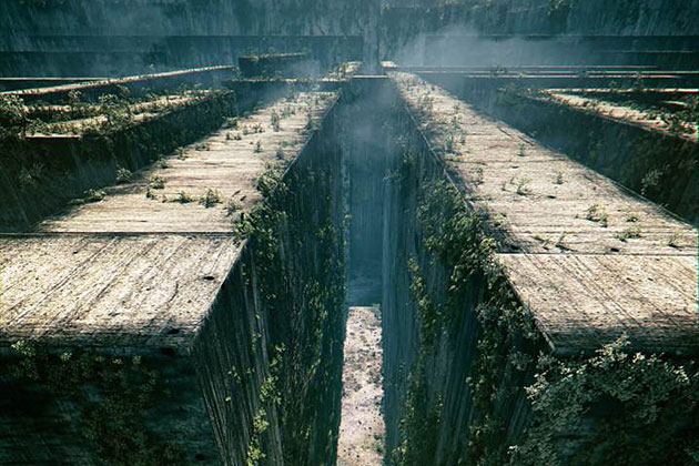 Several Artistic Concepts For Main Door : Several Artistic Concepts For Main Door : Maze Runner Glade