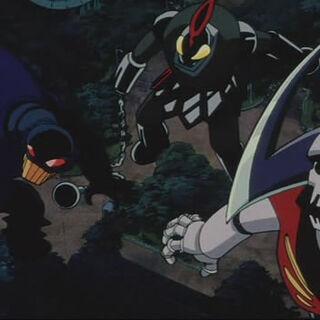 Some Mechanical Beasts in Mazinkaiser OVA.
