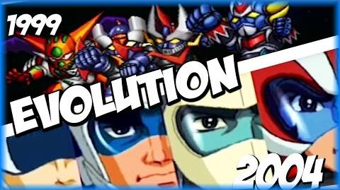 Evolution of FINAL DYNAMIC SPECIAL (1999-2009) スーパーロポット大戦 SRW