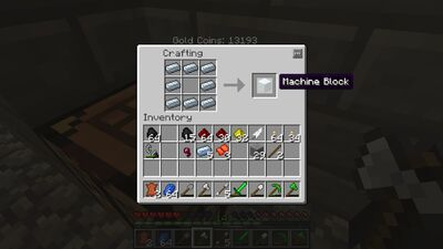 Machine block for minecraft wiki