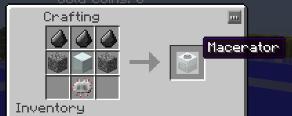 Macerator Recipe