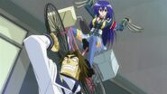 Medaka on top of Kunisaki's bike