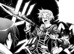 Udou spears Zenkichi