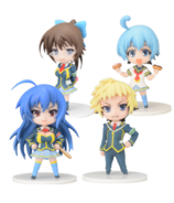 Medaka Box Mini Display Figure