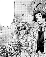 Kajiki and Hato's wedding