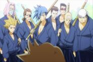 Kendo Club (minus Hyuga)