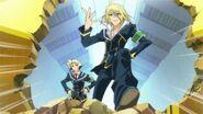 Zenkichi and Akune pass through the Door of Rejection