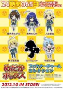Medaka Box Fastener Charm Collection